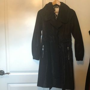 Tracy Reese Black Belted Coat Size 2